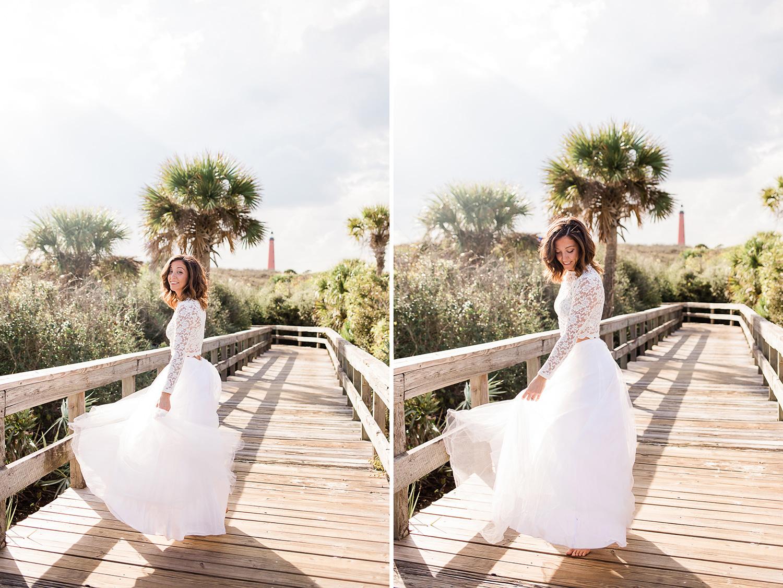 ponce inlet wedding orlando florida
